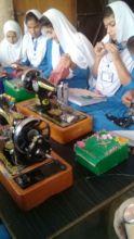 Vocational Training with Upper Grade Girls