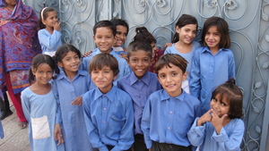 some of the students at one of the MDF schools