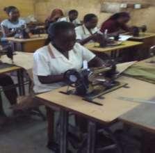 Fiona in a Practical Class