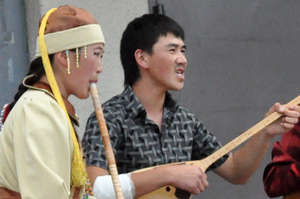 Our sponsored throat-singers