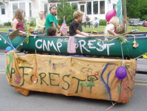 Camp Forest blends socio-ecological worlds