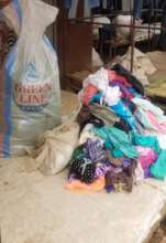 Many women sell used clothing