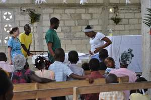 Acting out sanitary behaviour in Haiti
