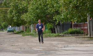 Vitalii Walks to Meet Moderators