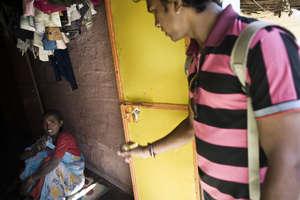 Door-to-door counselling for TB patients