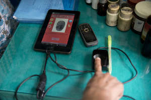 eCompliance Biometric System in Action
