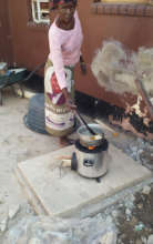 Water boils rapidly on the clean cooking stove