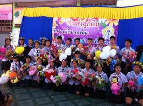 Student Graduation in Chiang Rai