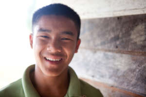 Surachai was 13 when he first met us.