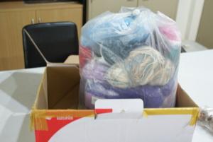 Donation of yarn