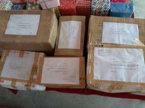 Items sent to the North for distribution