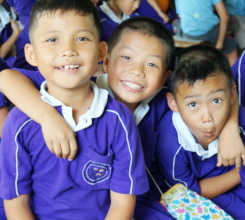 Kids (Beneficiaries) from the Primary School