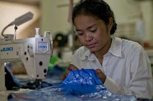 Sewing the Handbag