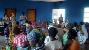First Maternal Healthcare Education Session