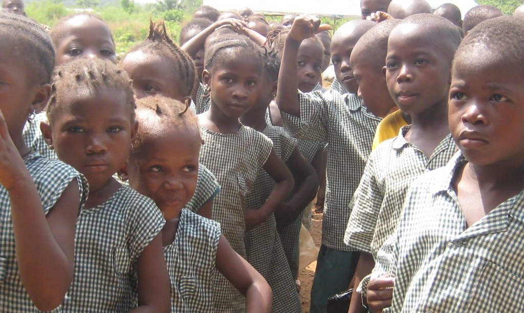 School Feeding Program in Sierra Leone