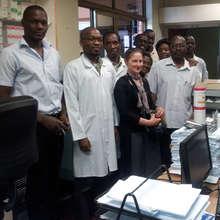 Mary and Mulago Hospital Team