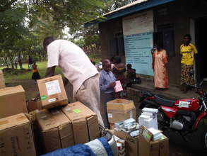 Delivery of medicine at a clinic