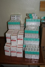 Donated medicines