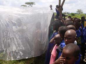 Children learning the Proper Use of Nets
