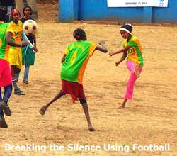 Breaking the Silence using football