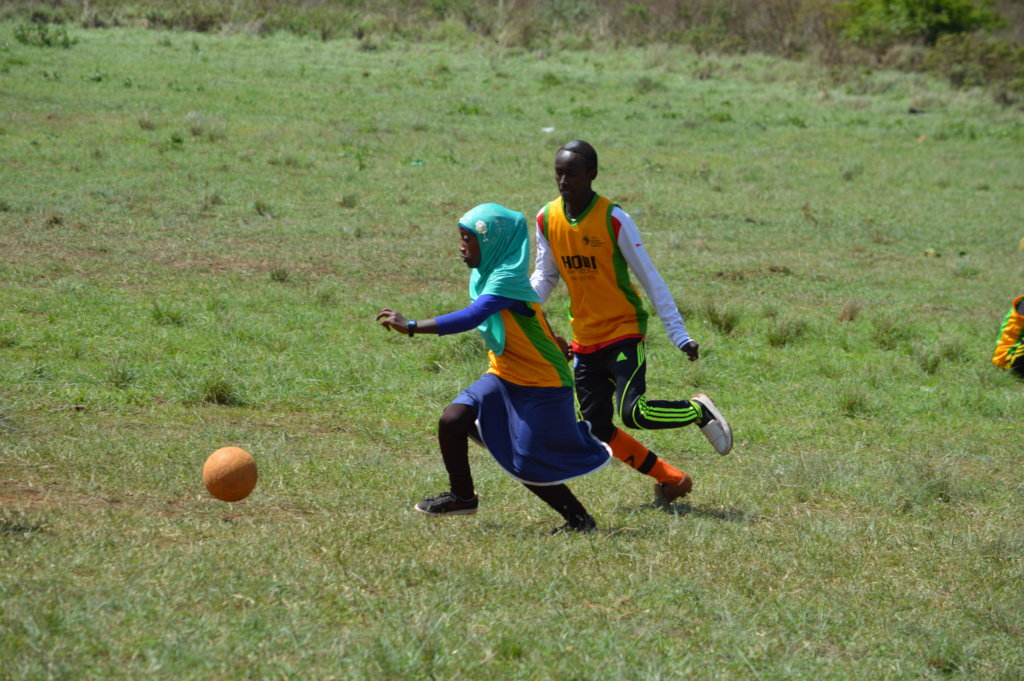 Shoot to Score for 500 Children in Northern Kenya