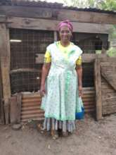 Mam' Msomi chick-rearing business