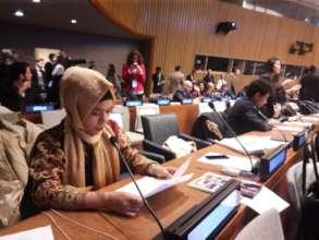 Asmin at the United Nations