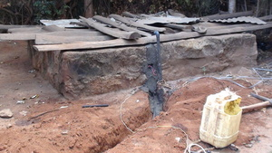 Wiring at the Water Well