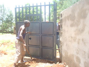 Putting gate in Place