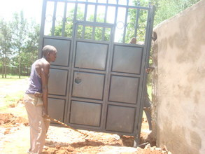 Putting Gate in Place 2