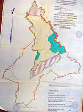 Map Maleku Reserve. They reside in the blue area.