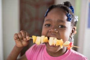 Healthy snacks taste the best!