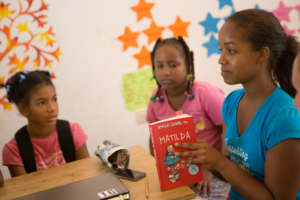 Fernanda inspires her class with a new story