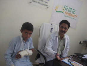 Irfan's follow up visit at SHINE