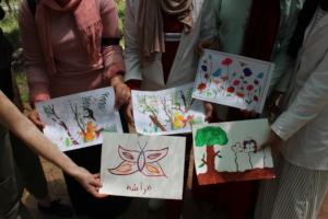 Art activity on Earth Day