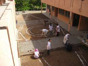 Designing a courtyard garden