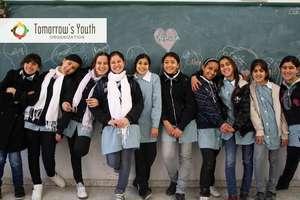 Lovely girls from UNRWA Refugee School in Nablus