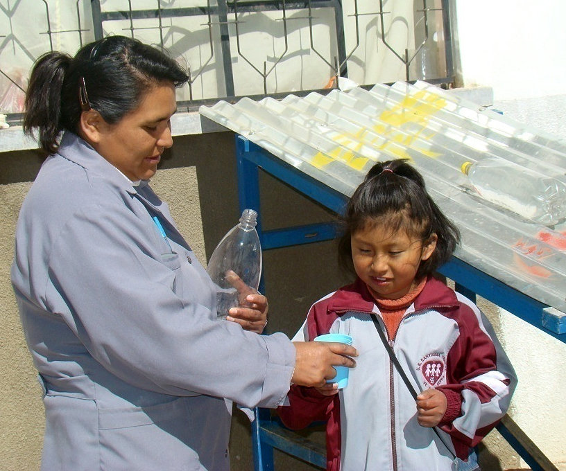 Develop an indicator for Solar Water Disinfection