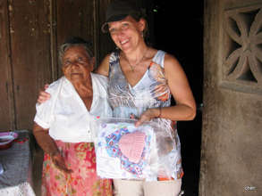 Hand Delivering Safe Motherhood Kits(TM)