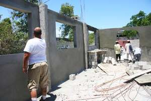 Construction on five permanent classrooms on-going