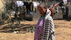 Hiwot was 7-months pregnant when she fled violence