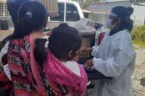 Providing life saving supplies in rural Guatemala.