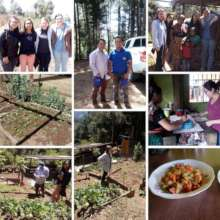 Community gardens in Chimaltenango, Guatemala.