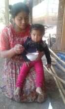 Juli having a nutritive meal