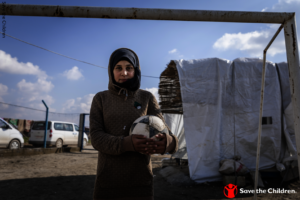 Sara, a 14 year old girl from Syria