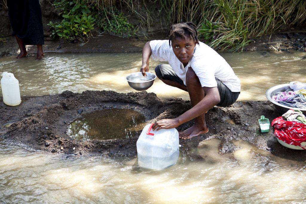Gamechanger Bucket = Access to Clean Water + Sport