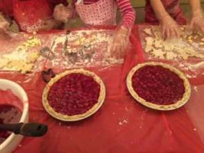 Pie making youth activity