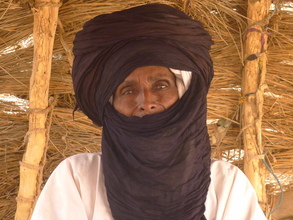 chief of the Foudouk Wodaabe people