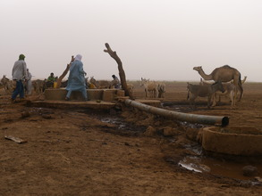 A well near Foudouk