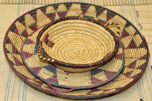 Straw Platters